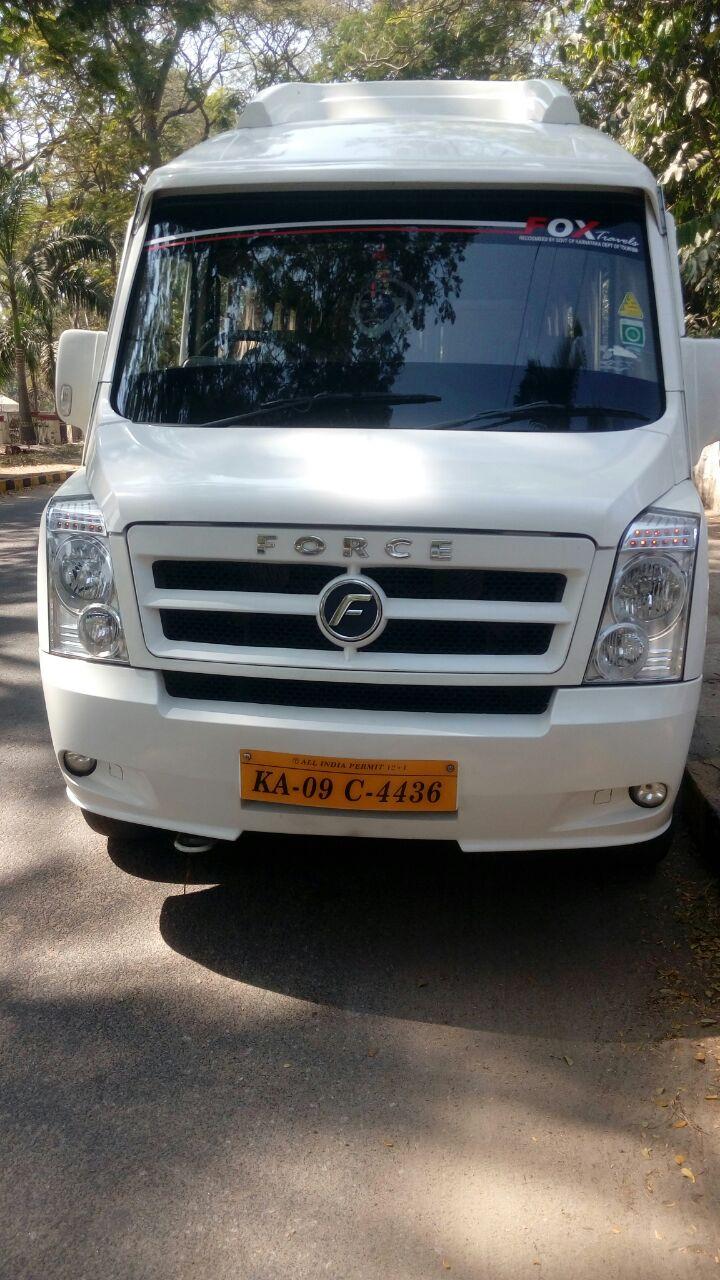 Mysore Tempo Traveler Hire | Tempo Traveller Rent In Mysore