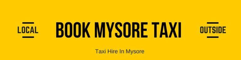 Mysore.Taxi